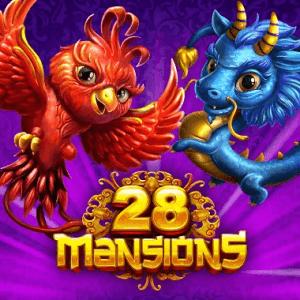 28 Mansions logo achtergrond