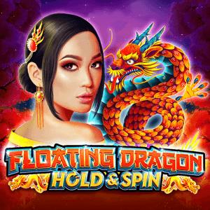 Floating Dragon logo achtergrond