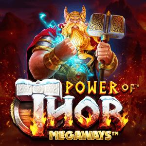 Power of Thor Megaways logo achtergrond