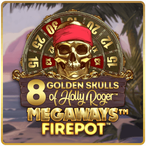 8 Golden Skulls of the Holly Roger Megaways
