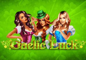 Gaelic Luck logo achtergrond