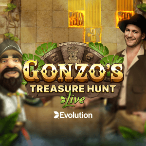 Gonzo's Treasure Hunt Live logo review