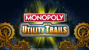 Monopoly Utility Trails logo achtergrond