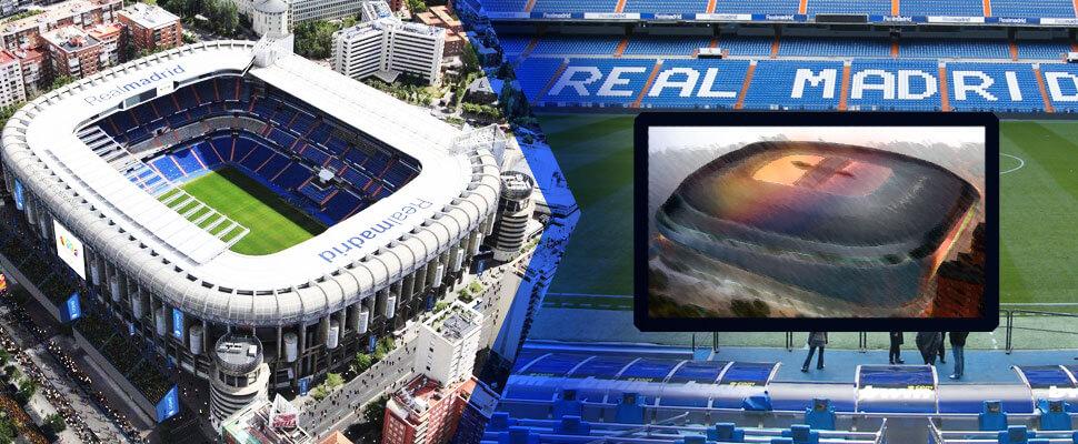 Nieuw stadion CS Real Madrid
