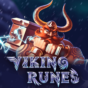 Viking Runes logo achtergrond