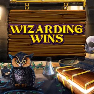 Wizarding Wins logo achtergrond