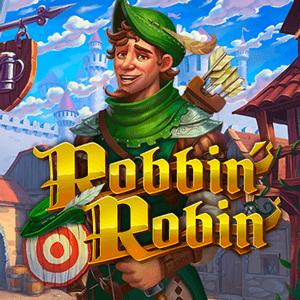 Robbin' Robin logo achtergrond