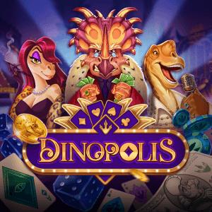 Dinopolis logo achtergrond