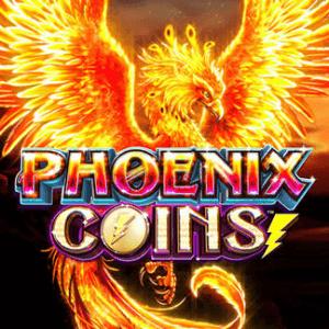 Phoenix Coins logo achtergrond