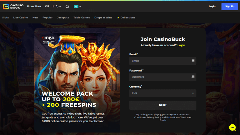 Casino Buck Screenshot 1