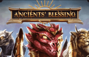 Ancients Blessing logo achtergrond