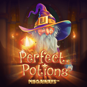 Perfect Potions Megaways logo achtergrond