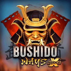 Bushido Ways xNudge logo achtergrond