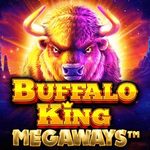 Buffalo King Megaways logo achtergrond