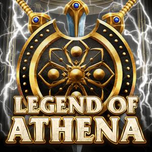Legend of Athena logo achtergrond