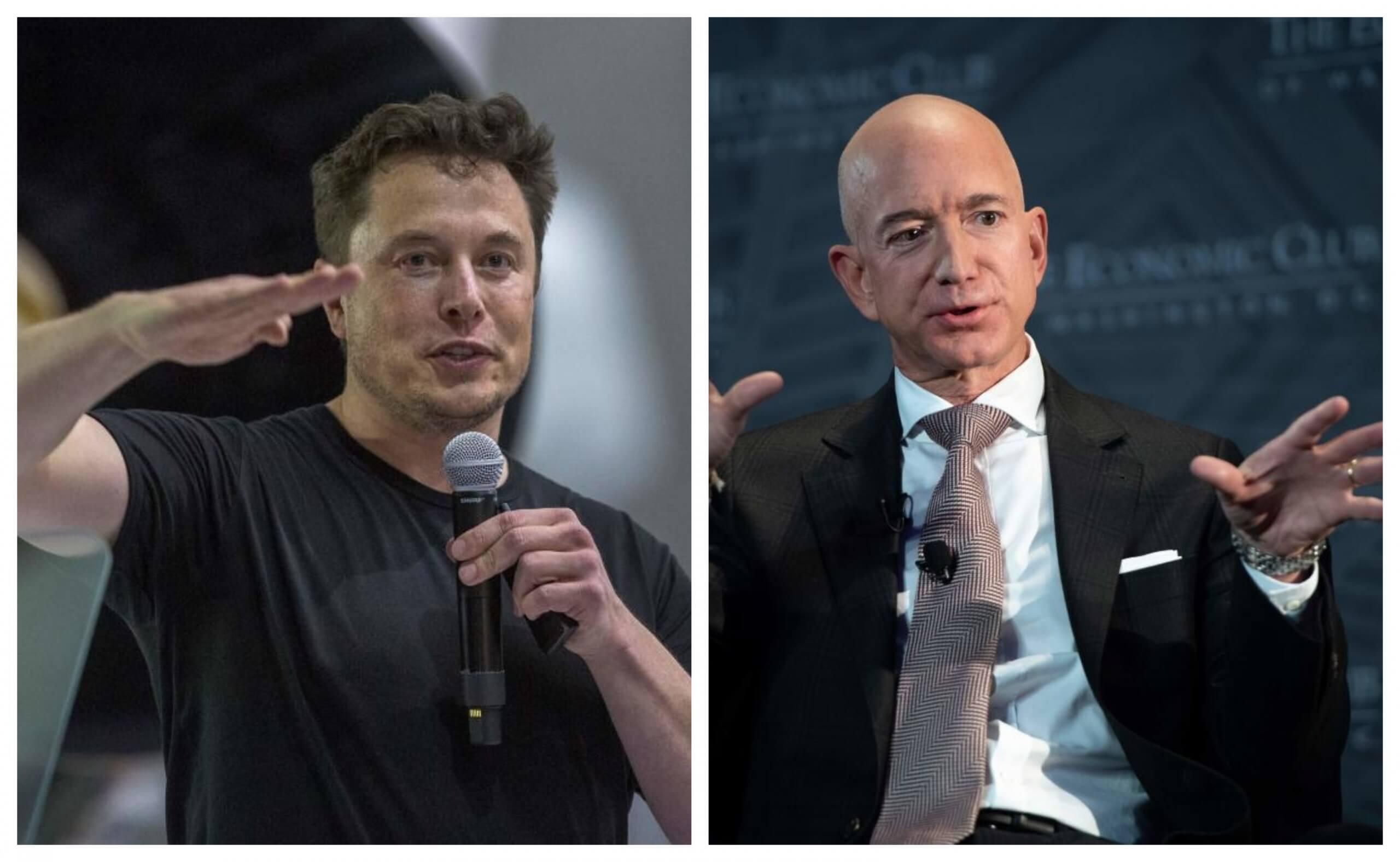 Elon Musk Jeff Bezos CS