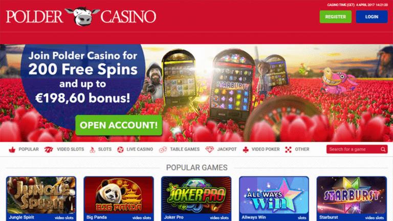 Polder Casino Screenshot 1