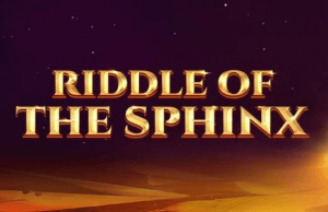 Riddle of The Sphinx logo achtergrond
