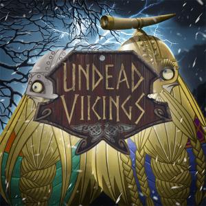 Undead Vikings logo achtergrond