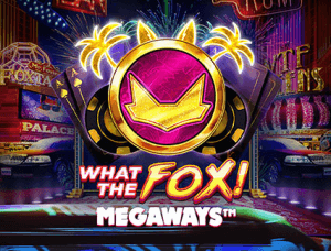 What The Fox Megaways logo achtergrond