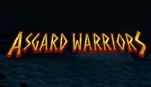 Asgard Warriors logo achtergrond