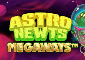 Astro Newts Megaways logo review