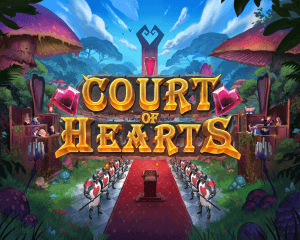 Court of Hearts logo achtergrond