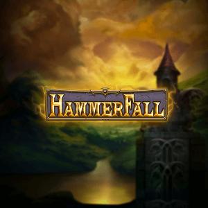 Hammerfall logo achtergrond