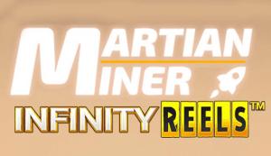 Martian Miner Infinity Reels logo achtergrond