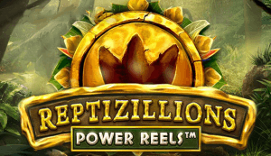 Reptizillions Power Reels logo achtergrond
