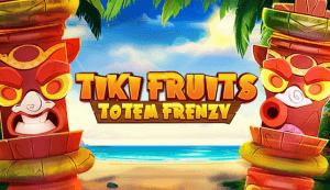 Tiki Fruits Totem Frenzy logo achtergrond