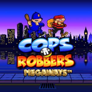 Cops N Robbers Megaways logo achtergrond