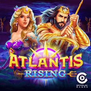 Atlantis Rising logo achtergrond