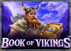 Book of Vikings logo achtergrond