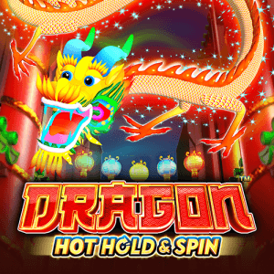 Dragon Hot Hold and Spin logo achtergrond