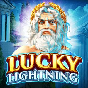 Lucky Lightning logo achtergrond