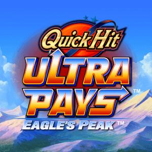 Quick Hit Ultra Pays Eagles Peak logo achtergrond
