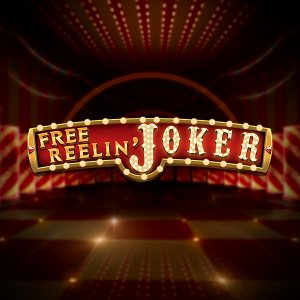 Free Reelin' Joker logo achtergrond