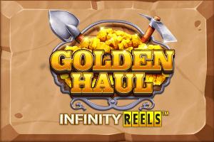 Golden Haul Infinity Reels logo achtergrond
