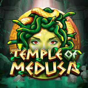 Temple of Medusa logo achtergrond