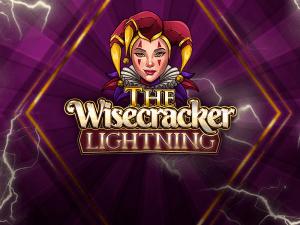 The Wisecracker Lightning logo achtergrond