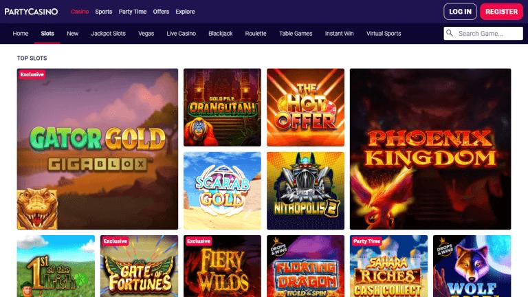 Party Casino Screenshot 3