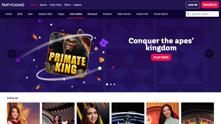 Party Casino Screenshot 2