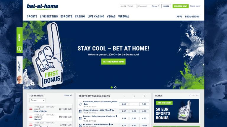 Bet at Home Screenshot 1