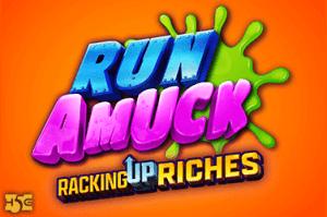 Run Amuck logo achtergrond