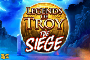 Legends of Troy: The Siege logo achtergrond