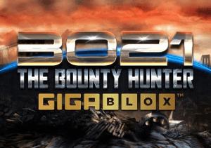 3021 AD The Bounty Hunter Gigablox logo achtergrond