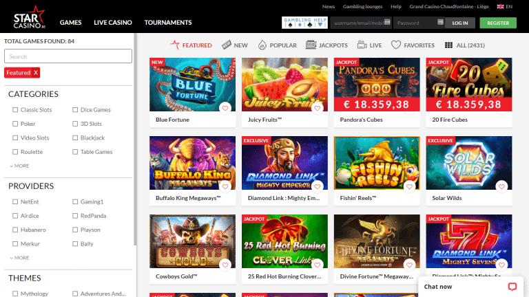 Star Casino Screenshot 2