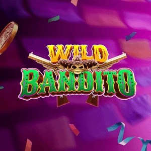 Wild Bandito logo achtergrond