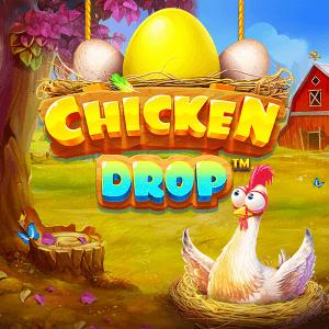Chicken Drop logo achtergrond